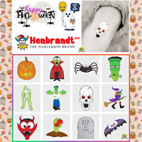 12 Festive Christmas Temporary Tattoos Kids Party Bag Stocking Pinata Filler 4cm