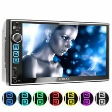 CAR STEREO RADIO SYSTEM WITH TOCHSCREEN DISPLAY BLUETOOTH USB SD DOUBLE 2DIN