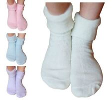 3 Pairs Ladies Womens Sleeperzzz Fluffy Brushed Lounge Bed Socks - Mixed Pastel