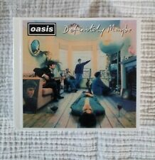Oasis. Definitely Maybe CD. (Remastered)(deluxe Edition)(with Book)(1994)