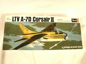 1/72 Revell US Air Force Vought LTV A 7D Corsair II w/Full Weapons Load #H133:10