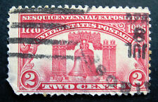 Sc # 627 ~ Used ~ 2 cent Sesquicentennial Exposition