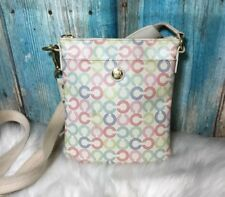 Coach Waverly Pastel Signature Crossbody Purse