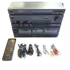 Technics SU-V98 Integrated Amplifier Tuner & Dual Cassette Player W/ Remote VTG