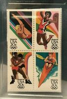 1984 USA Olympics Twenty Cent Stamp GMA Gem MT 10