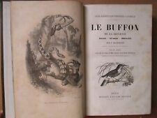 BLANCHARD : LE BUFFON DE LA JEUNESSE, 1859. Zoologie, botanique, minéralogie.