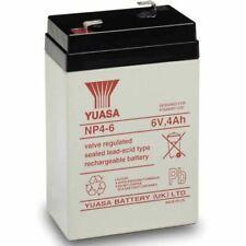 Batterie ricaricabili 4 Ah 6 V per articoli audio e video