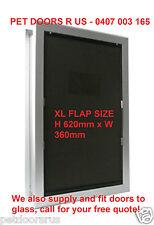 NEW XL DOG DOOR -Flexi Flap - Suits XL Dogs -  Extra Large Dog Door - FREE POST