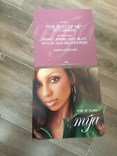 MYA DOUBLE SIDED PROMO ALBUM FLAT FEAR OF FLYING 2000 RARE