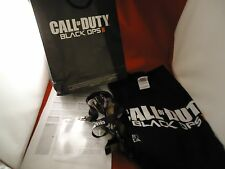 Call of Duty II Black Ops Xbox 360 Pre-Launch Promo Kit T-Shirt Bag Press Relese