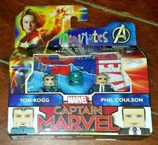 MiniMates Marvel's Captain Marvel: YON-ROGG & PHIL COULSON Figures! Mix & Match!