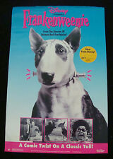 FRANKENWEENIE movie poster TIM BURTON original video promo 1984 version