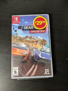 Gear Club Unlimited (Nintendo Switch) Brand New