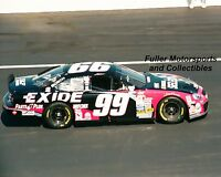 JEFF BURTON #99 EXIDE FORD WINS AT RICHMOND NASCAR WINSTON CUP 1998 8X10 PHOTO