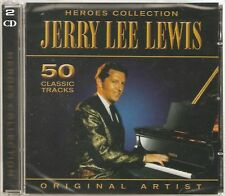 JERRY LEE LEWIS 2 CD SET HEROES COLLECTION