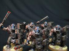 3 Bullgryns Painted Warhammer 40k Astra Militarum Korps/Steel Legion COMMISSION