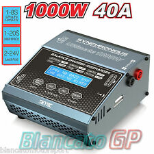 SkyRC Ultimate 1000W 40A Caricabatterie professionale SK-100069 1-8S Charger 20s