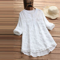 Elegant Women Lace Blouse Shirts Embroidery Patchwork Casual Long Sleeve Tops