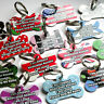 Personalised Pet Tags Custom Metal Dog Name Tag Discs Pet ID Tags Engraved FREE