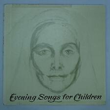 "Agathe Mark sings Evening Songs for Children/70's German/Austrian Folk 10"" LP EX"