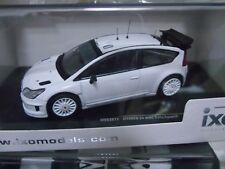 CITROEN C4 WRC BLANCHE RALLYE  2009 pour deco 2009 1.43
