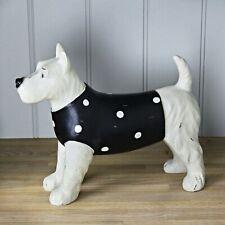 Large Westhighland White Terrier Dog In Polka Dot Jumper Decorative Ornament