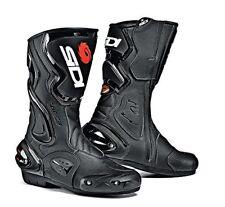 Sidi Cobra Course Bottes de Moto Hommes Microfibre - Noir 46