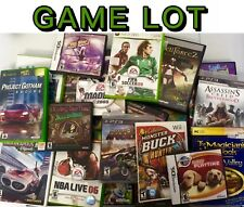 100 VIDEO GAMES LOT Ps2/PS3/xbox360/Xbox/Wii/GameCube Wholesale Bulk Game Lots!