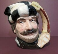 """Royal Doulton Toby Jug """"The Trapper"""" D6612, Small 3-3/4"""" 1967 - 1983"""
