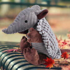 Cute Little Armadillo Plush Sound Squeaky Animal Pet Dog Training Chew Toys se