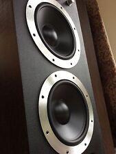 """2 X 10"""" BASS/Woofer Remplacements pour Wharfedale E50 E70 & Vanguard Haut-parleurs"""