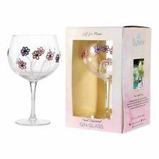 Mothers Day Gift Gin and Tonic Goblet Glass Hand Decorated From Sunny By Sue