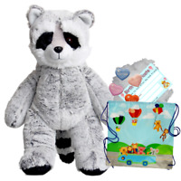 "Raccoon -16 ""/ 40cm Build Une Nounours Ours Fabrication Kit (Add T-Shirt / Son )"