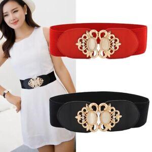 Ladies Waist Belts Women Stylish Elastic Belt Stretch Fashion Cinch Classic Uk