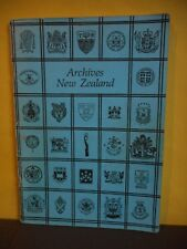 Archives New Zealand:A Directory of Archives and Manuscript Repositories...