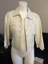 White Bebe Leather Jacket NWOT