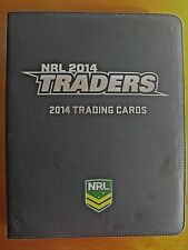 2014 NRL TRADERS COMPLETE 176 PARALLELS TRAD/CARDS WITH FOLDER/SLEEVES/CHECKLIST