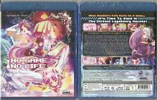 No Game No Life Complete Anime Collection (Blu-ray Disc, 2015, 2-Disc Set)