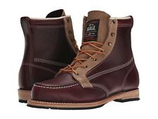 "Woolrich Woodsman Men's Horween Leather 6"" Vibram Boots MADE IN USA $360 NEW 9.5"