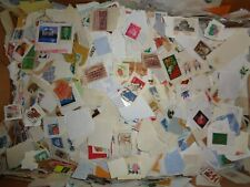 1 Pound or 1# + of US On Paper Used - Late 1800's to Current - Includes BOB etc.