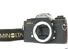 [Near Mint w/ Strap] MINOLTA XD-S 35mm SLR Film Camera Black Body From JAPAN