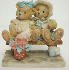 Cherished Teddies Tracie & Nicole 911372 Side By Friends Figurine