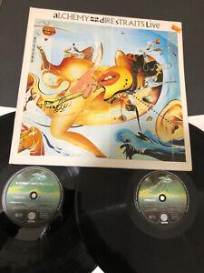 Dire Straits Alchemy Doppio LP 33 giri vinile  Ottime Condizioni