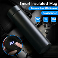 500ml Smart Insulated Mug Stainless Steel Vacuum Cup LED Temperature Display