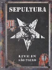 SEPULTURA - live in sao paulo DVD