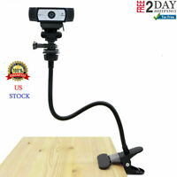 Desk Mount Webcam Flexible Clamp Gooseneck Stand For Logitech Brio 4K C925e C922