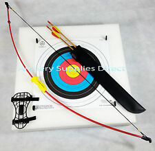 Leisure Archery Bow Set Light Package with Arrows with Target and Faces Kit