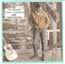 "P.F. SLOAN - ""EARLY GOODIES & OBSCURITIES""  *28* tracks"