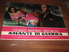 AMANTE DI GUERRA,,STEVE Mc QUEEN,FOTOBUSTA 1 EDIZ.N2