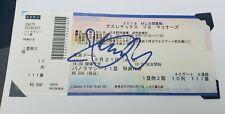 ICHIRO SUZUKI autographMLB Final Game Ticket Stub 3/21/2019 Tokyo rare mariners